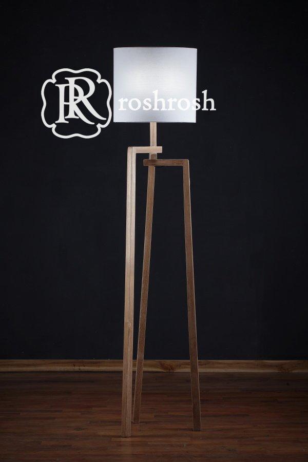 Kuwait Teak Floor Lamp Roshrosh